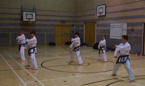 first black belt lesson in kettering