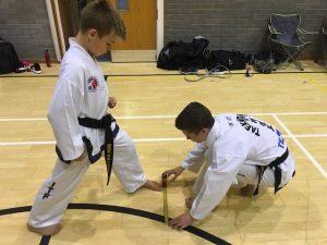 Taekwondo Stances Lesson in Amity Taekwondo